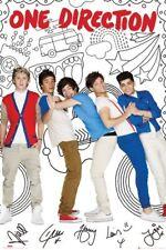 One Direction Cartoon Maxi Poster 61x91.5cm LP1589 HARRY LOUIS LIAM NIALL ZAYN