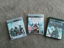 Assassin's Creed American Trilogy, Brotherhood and Revelations on PS3