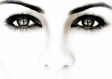 SALON SPA HEALTH BEAUTY EYES EYEBROWS EYELASHES A4 260GSM POSTER PRINT