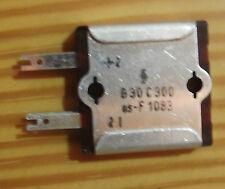 Selen Brückengleichrichter Siemens B30 C300 für Radio u. Tonbandgeräte F1083 Neu