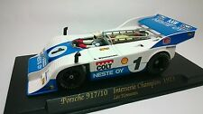 Slot Car Fly A167 PORSCHE 917/10 Interserie 1973 Compatible 1/32 Scalextric