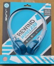 JLAB REWIND WIRELESS RETRO BLUE/SILVER HEADPHONES