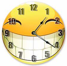 "10.5"" BIG HAPPY SMILE CLOCK - Large 10.5"" Wall Clock - Home Décor Clock - 3061"