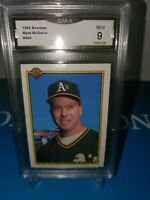 1990 Bowman #454 Mark McGwire ROOKIE GMA 9MINT! LONG GONE SUMMER 🔥⚾️🔥💪
