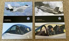 "Lockheed Martin F-35 Lightning ""Joint Strike Fighter"" Promotional Brochures"