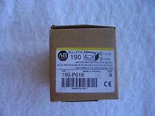 NIB  Allen Bradley Motor Protection Trip Block   1.0-1.6A     190-P016
