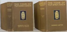 "HOWARD CARTER ""The Tomb of Tutankhamen"" FIRST EDITION TWO VOLUME SET"