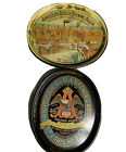 Anheuser Busch Brewing Oval Beer Trays St. Louis Official Product Tin Lot X2