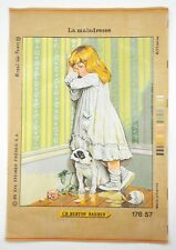 Royal Paris Needlepoint In Disgrace by Charles Burton Barber Tapestry Needlework