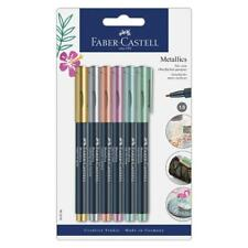 Faber-Castell FC160706: Metallic Markers - 6 colors