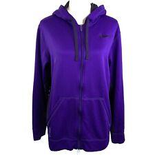 Nike Girl/'s Therma Dri-Fit Training Hooded Sweatshirt Purple Orange 860094 510