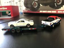 Nissan Titan XD Pro4 (Greenlight) with Trailer & Shelby GT350R (1965)