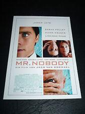 MR. NOBODY, film card [Jared Leto, Diane Kruger, Sarah Polley]