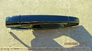 2007-2013 Silverado Sierra Yukon Tahoe GM Door Handle Black LH RR Chevy GMC