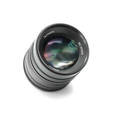 7artisans 55mm f/1.4 Manual Focus Lens For OLYMPUS M4/3 Mount A504B