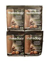 Shakeology Chocolate 4 Packets by Beachbody New & Sealed!