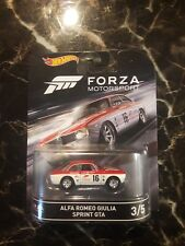 Hot Wheels Retro Entertainment Forza Motorsports Alfa Romeo Giulia FREE SHIPPING
