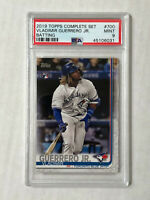VLADIMIR GUERRERO JR 2019 Topps Complete Set RC #700! PSA MINT 9! BATTING SP!