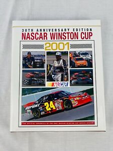 NASCAR Winston Cup Car Racing 2001 Yearbook - Hardcover Coffee Table Book