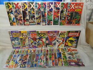 X-Men 22-66 (miss.10bks) SET #28, #49! 1966-1970 Marvel Comics (s 12008)