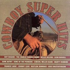 Cowboy Super Hits Various Artists Cassette New Sony Music Roy Rogers G Autry