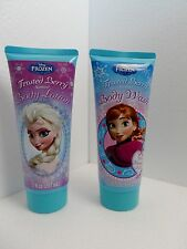 Disney Frozen body wash and body lotion  authentic ,7 fl oz free shipping