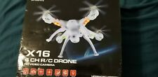 large drone with HD 4k quality video 16mp, comes with 8gb micro sd card