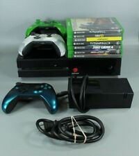 New listing Xbox One 500Gb Black Console System w/ 7 Games, 3 Controllers, Tested & Working