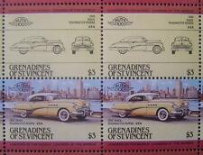 1949 BUICK ROADMASTER RIVIERA Car 50-Stamp Sheet / Auto 100 Leaders of the World