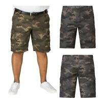 D555 Duke King Big Plus Size Men's Camouflage Military Cargo Green Shorts Pants