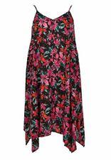 Evans Black Floral Hanky Hem Dress - Brand new with Tags - Plus Size 26