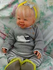 """Reborn baby toddler girl Kenzie 26"""" 11lb. Faber JosyNN Josy Newborn Nursery"""