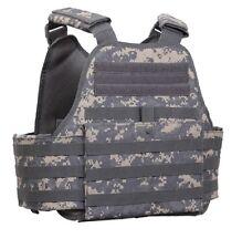 US ACU PLATE CARRIER MOLLE Digital Camo Military Plattenträger Army Weste VEST