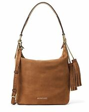 Michael Kors Tasche/Bag Elana MD Convertible Shoulder,Hobo Dk.Caramel NEU!