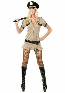 California Sheriff Costume for Women sizes XS & Small CHP New by Charades 02163