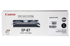 NEW Canon EP-87 BLACK Laser Cartridge - 7433A005[AA] Genuine Retail Sealed