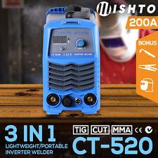 NEW Mishto CT-520 DC TIG ARC Plasma Cutter Portable Inverter Welder Welding