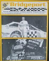 1991 Bridgeport Speedway Program Vol 9 #6 Doug Hoffman and URC
