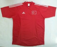 VINTAGE ORIGINAL MADE IN TURKEY ADIDAS TURKEY NATIONAL TEAM SOCCER JERSEY SIZEXL