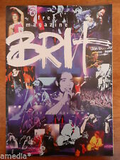RARE Brit Awards Programme UK Magazine 1998 Fleetwood Mac U2 BJORK Verve Book 98