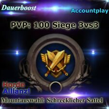 WoW 100 Siege 3v3 Arena Boost Mountauswahl: Schrecklicher Sattel PVP