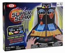 Ideal Electronic Super Slam Basketball Tabletop Game New