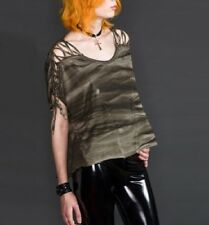 LIP SERVICE COLLAPSE OF SOCIETY LADIES MULTI COLOR TOP
