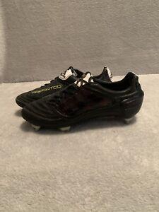 Adidas Predator X SG UK9 Football Boots Blackout