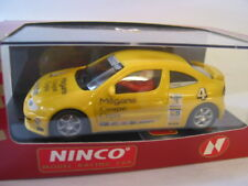 NINCO  50147 RENAULT MEGANE COPA #4 YELLOW   MINT BOXED DELETED BNIB