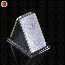 WR Iron METAL BAR 1 TROY OZ  Silver Bar Collectable SUNSHINE MINTING INC. EAGLE