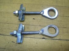 2 Vintage NOS Chain Axle Adjusters Rupp Arctic Cat Minibike Mini Bike Scooter