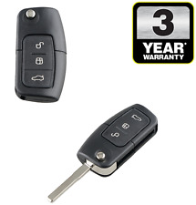 For Ford Fiesta Focus Kuga Mondeo 3 Button Remote Flip Blade Car Key Fob Case