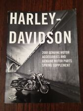 2001 Harley Davidson GENUINE Parts & Accessories Supplement Catalog 99556-01V