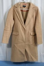 Topshop Relaxed Coat Camel Size US 2
